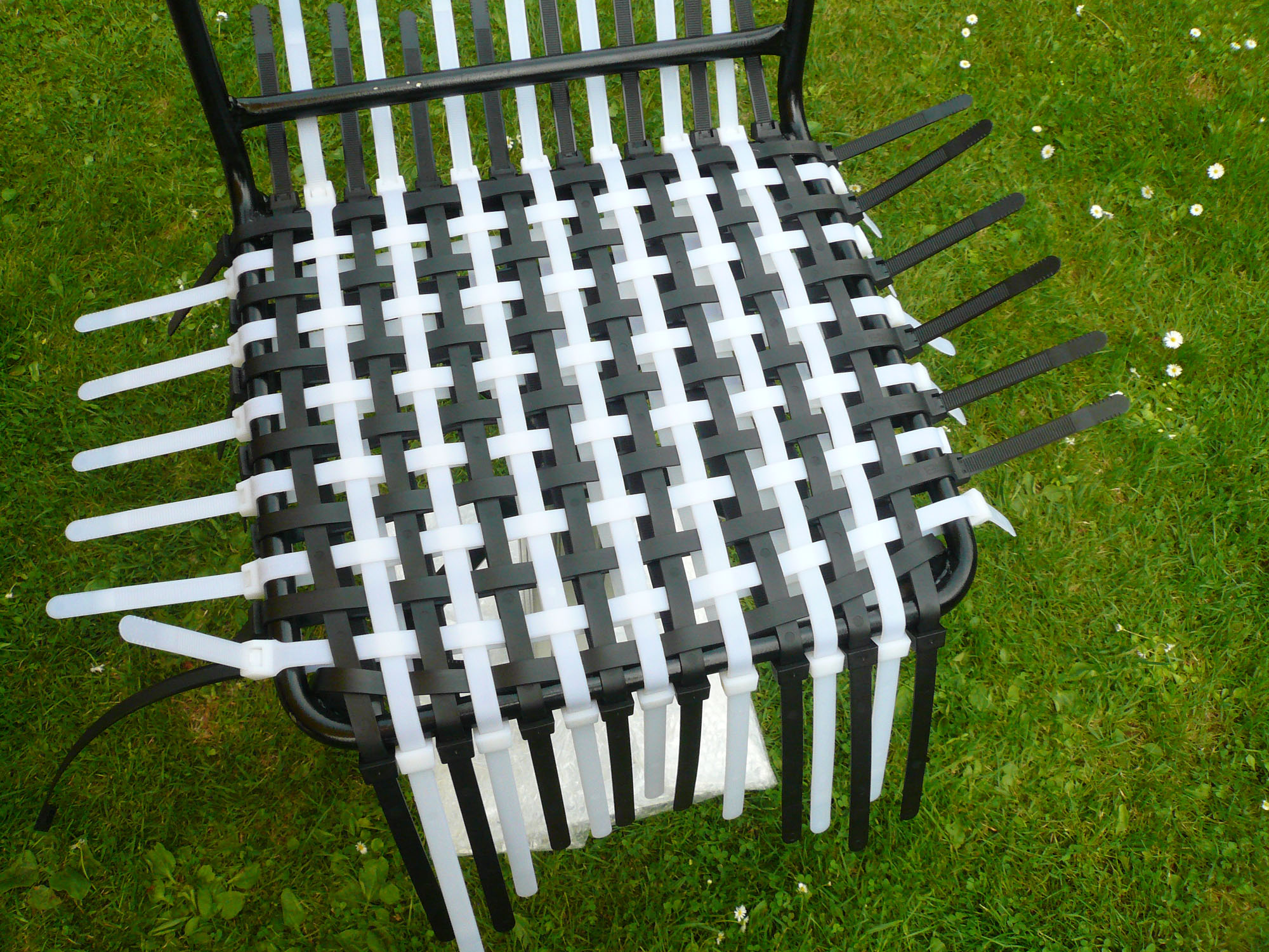 Cable Tie Chair 2